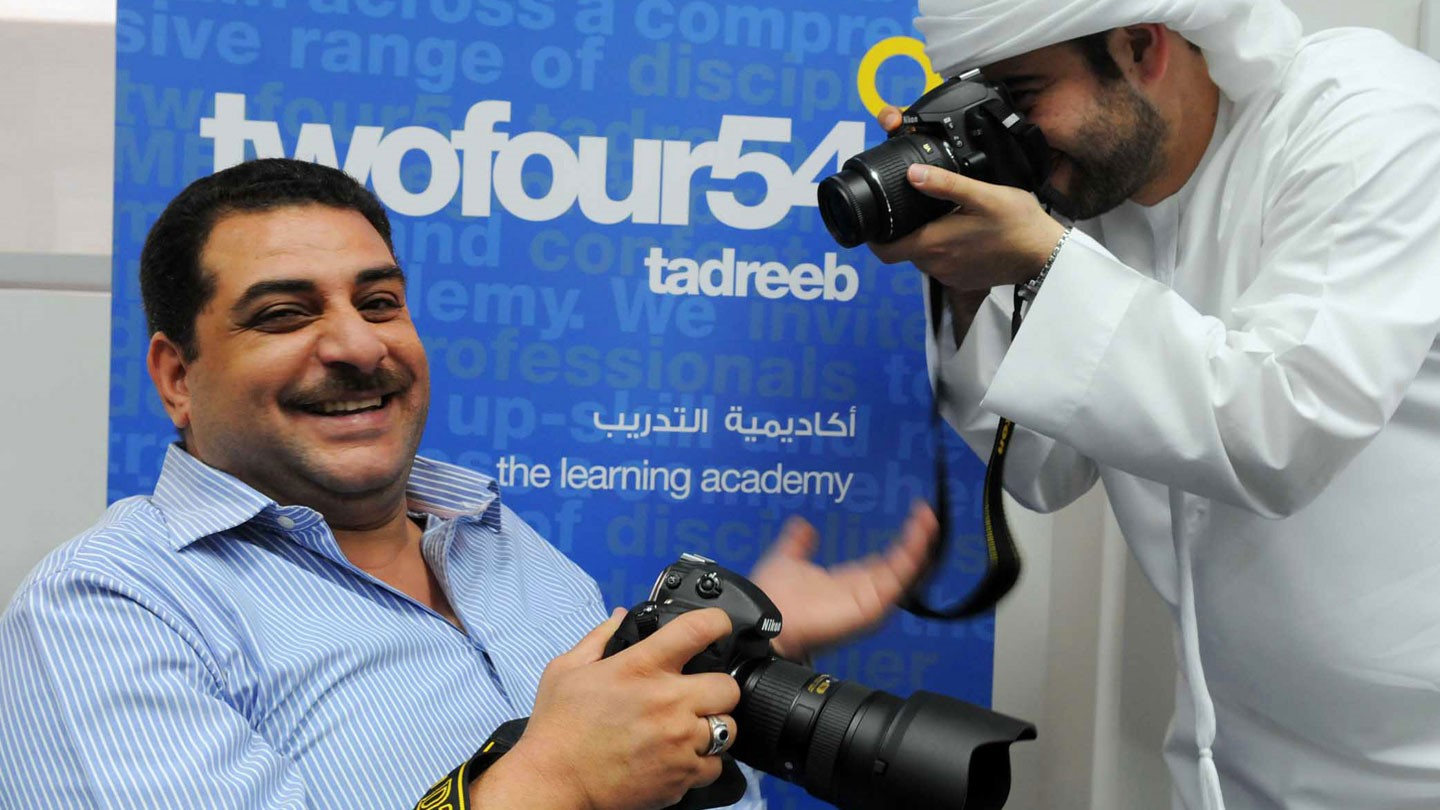 UAE Abu Dhabi: Media training with a Centre for Media Innovation